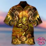 Golden Dragon v2 Hawaii Shirt