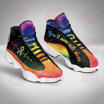 LGBT you'll never walk alone JD13 Shoes
