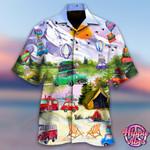 Get High With Camping Hawaii Shirt