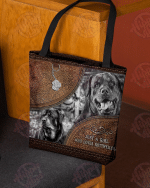 A Girl Who Loves Rottweilers All-Over Tote