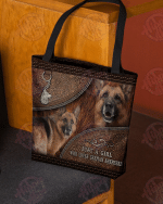 A Girl Who Loves German Shepherd All-Over Tote