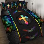 Love Jesus – God Quilt Bed Set