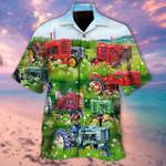 Real Men Drive Tractors Unisex Hawaii Shirt