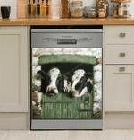 Cow Farm Window Decor Kitchen Dishwasher Cover