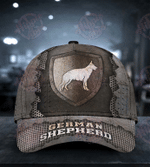 German Shepherd The Metal Shield Classic Cap