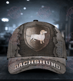 Dachshund The Metal Shield Classic Cap
