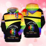 Multitype New LGBT 3D All Over Printed Hoodie