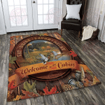Welcome To The Cabin Area Rug