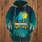 Camping Night 3D All Over Printed Hoodie
