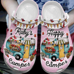 Custom Happy Camper Crocband Clog