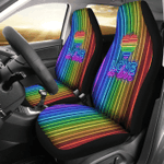 LGBT Love Is Love Car Seat Cover