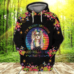 God Rolled Me That Way Hippie 3D All Over Printed Hoodie