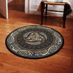 The Symbol Of Odin Round Rug
