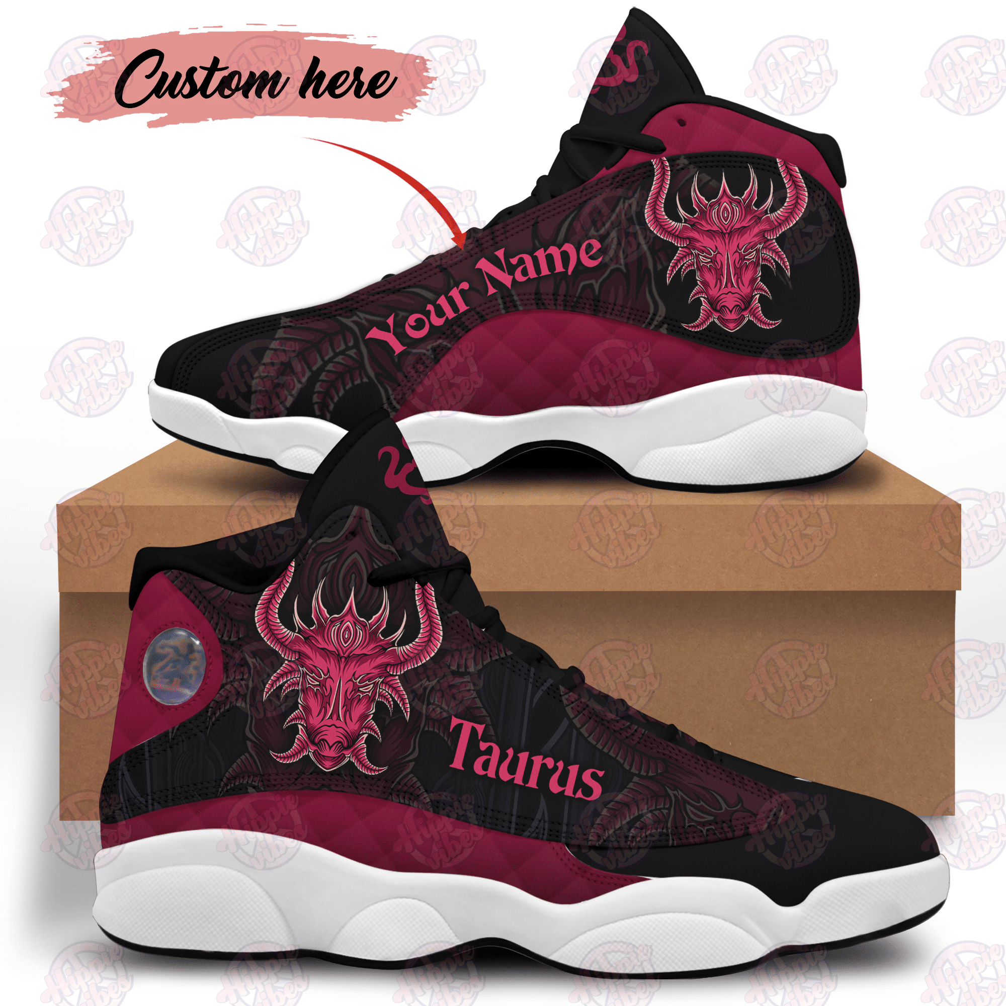 Taurus Customized JD13 Shoes HPV02