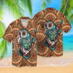Mandala Owl Hawaii Shirt