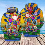 Hippie Life 3D All Over Printed Hoodie