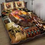 Proud Native American Quilt Bed Set