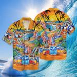 Summer Beach Surfing Hawaii Shirt