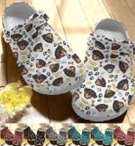 Lovely Rottweiler Pattern Crocband Clog