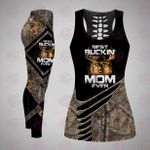 Best Buckin' Mom Ever Combo Tank Top And Leggings