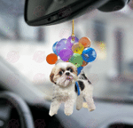 Shih Tzu Fly With Bubbles Shih Tzu Lovers Ornament