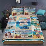 Nothing Soothes The Soul Like A Walk On The Beach Quilt Bed Set
