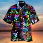 Disco Cats Hawaii Shirt HPV01