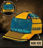 Personalized School Bus Classic Cap