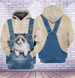 Ragdoll Cat 3D All Over Printed Shirt