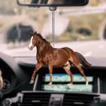 American Quarter Horse Car Hanging Ornament
