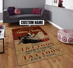 Personalized tattoo studio rug HPV01
