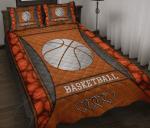 Love Basketball Quilt Bed Set