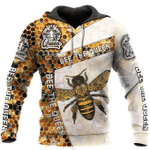 Bee The Queen 3D All Over Printed Shirts