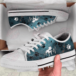 Pit Bull Heartbeat Green Low Top Shoes