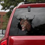 Horse Crack Car Sticker