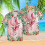 Tropical Flamingo Hawaii Shirt HPV01