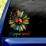 Hippie Soul Car Sticker
