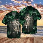 Elephant Hiding Tropical Hawaii Shirt