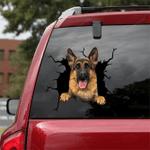 German Shepherd Car Crack Sticker 08