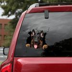 German Shepherd Car Crack Sticker 10