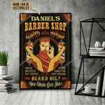 Personalized Barber Beard Oil Customized Poster
