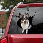 Corgi Crack Car Sticker 15