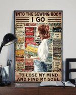 Into The Sewing Room Vertical Poster