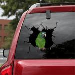Parrot Crack Car Sticker 03