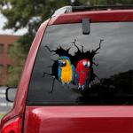 Parrot Crack Car Sticker 16