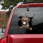 Bullmastiff Crack Car Sticker 07