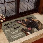 Drunk Dog Hope You Brought Beer Doormat