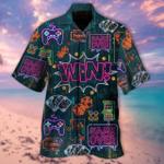 Life is a Game, Play It Hawaiian Shirt