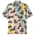 Dachshund Hawaii Shirt HPV01