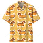 Dachshund Hotdog Hawaii Shirt